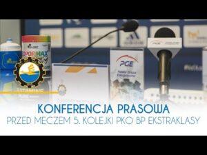 TV Stal: Konferencja prasowa przed meczem 5. kolejki PKO BP Ekstraklasy