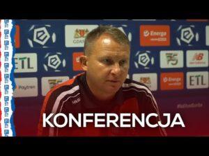 Konferencja prasowa po meczu Lechia Gdańsk – Podbeskidzie