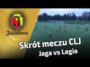 Skrót meczu CLJ – Jaga vs Legia (1:4)