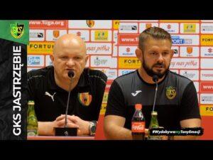 Read more about the article [GKS TV] Konferencja prasowa po meczu Koroną Kielce