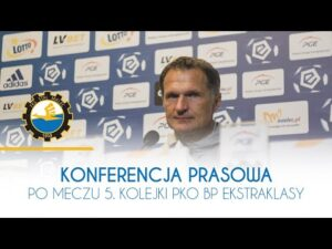 TV Stal: Konferencja prasowa po meczu 5. kolejki PKO BP Ekstraklasy