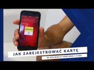 Read more about the article [MIEDZ TV ] Apka FORTUNA 1 LIGA –  Jak zarejestrować kartę w aplikacji