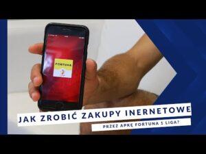 [MIEDŹ TV] Apka FORTUNA 1 LIGA: Jak zrobić zakupy internetowe