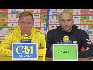 Arka Gdynia – GKS Tychy 0-2:  Konferencja prasowa