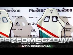 Konferencja prasowa trenera Czesława Michniewicza przez meczem z Karabachem