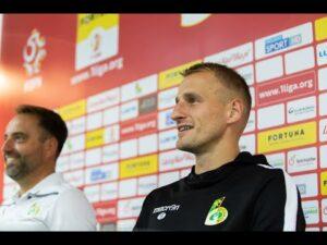 Konferencja prasowa po meczu GKS Bełchatów – Miedź Legnica 1:0