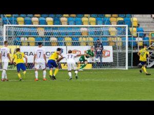 Arka Gdynia – Puszcza Niepołomice 3-2: Skrót meczu