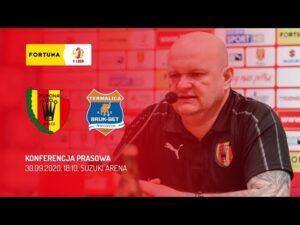 Konferencja prasowa po meczu Korona Kielce – Bruk-Bet Termalica Nieciecza (30.09.2020)
