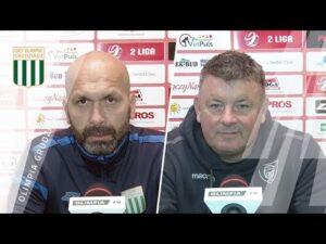 Konferencja prasowa po meczu Olimpia Grudziądz – GKS Katowice (1:3)