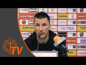 Konferencja prasowa po meczu Chrobry Głogów – Górnik Łęczna