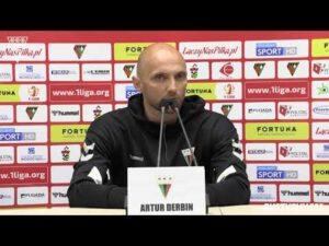 2. kolejka Fortuna1Liga: Konferencja prasowa po meczu Zagłębie Sosnowiec – GKS Tychy 3:0