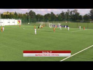 Skrót meczu Jagiellonia II Białystok 1:0 KS Kutno