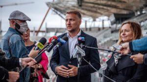 Koniec budowy stadionu być może już w 2021