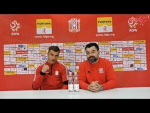 WYWIADY PRZEDMECZOWE 8. kolejki Fortuna 1 Liga