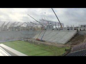 Kolejne miesiące budowy stadionu w Szczecinie [TIME-LAPS 4K]