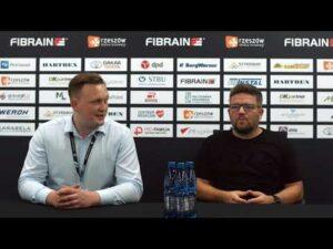 Konferencja po meczu Stal Rzeszów – Skra Częstochowa