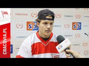 Joe Widmar po dołączeniu do Comarch Cracovii (05.10.2020)
