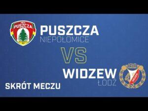 Skrót Puszcza – Widzew 1-0 | PUSZCZA TV