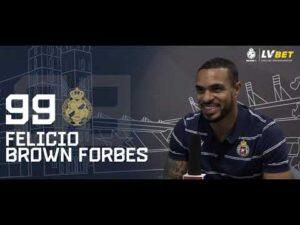 Brown Forbes: Cały czas nad sobą pracuję