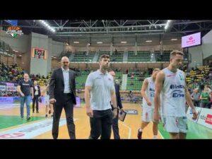 Stelmet Enea BC Zielona Góra – MKS Dąbrowa Górnicza 95:79 (skrót meczu)