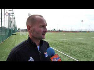 Trener Dzierżanowski o grze swoich podopiecznych w konfrontacji z Pcimianką