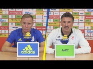 Arka Gdynia – ŁKS Łódź 0-0:  Konferencja prasowa