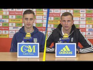 Arka Gdynia – ŁKS Łódź 0-0: Wywiady