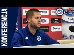 Konferencja | Wigry Suwałki 1:0 (0:0) Motor Lublin