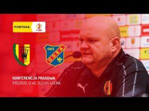 Konferencja prasowa po meczu Korona Kielce – Odra Opole (11.10.2020)