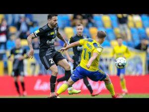Arka Gdynia – ŁKS Łódź 0:0 | SKRÓT MECZU