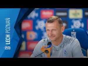KONFERENCJA prasowa trenera DARIUSZA ŻURAWIA przed meczem z JAGIELLONIĄ BIAŁYSTOK