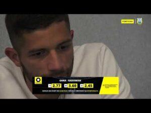 efortuna.pl | #1 | Jonatan Straus o 9. kolejce Fortuna 1 Liga
