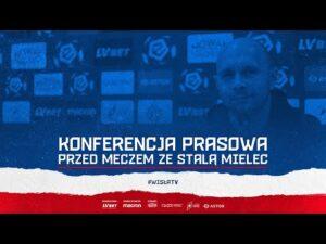 Konferencja prasowa przed meczem ze Stalą Mielec (16.10.2020)