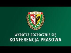 Konferencja prasowa trenera Lavički przed meczem w Płocku