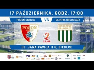 Read more about the article Transmisja: Pogoń Siedlce – Olimpia Grudziądz
