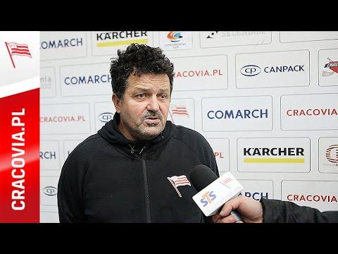 Rudolf Roháček po meczu z Ciarko STS Sanok (16.10.2020)