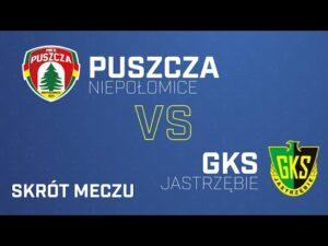 Skrót meczu Puszcza – GKS Jastrzębie 2-1| PUSZCZA TV