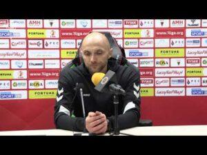 9. kolejka Fortuna1Liga: Konferencja prasowa po meczu GKS Tychy – Chrobry Głogów 4:0