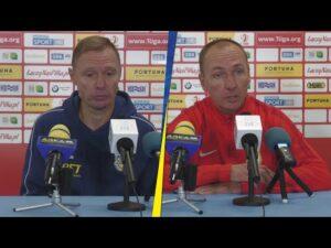 Stomil Olsztyn –  Arka Gdynia 1-1: Konferencja prasowa