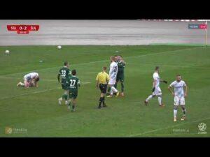 Stal Rzeszów – Śląsk II Wrocław 0-3 (skrót meczu)