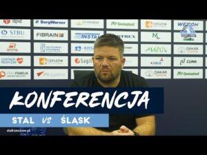 Konferencja po meczu Stal Rzeszów – Śląsk II Wrocław