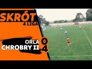 KOLEJE DOLNOŚLĄSKIE 4 LIGA: piękny gol i 4:0 z Orlą Wąsosz rezerw Chrobrego