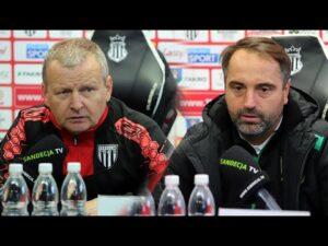 2020-10-18 Sandecja – GKS Bełchatów 0-0, pomeczowa konferencja prasowa