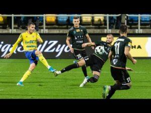Arka Gdynia – GKS Tychy 0-2: Skrót meczu