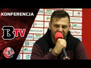 Read more about the article Konferencja prasowa po meczu Bytovia – Wigry Suwałki (1:2)