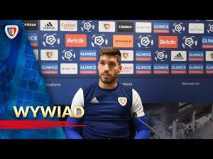 Wywiad z Krisem Vidą przed meczem z Lechem