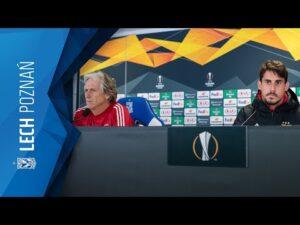 KONFERENCJA prasowa SL BENFICA przed meczem z LECHEM POZNAŃ