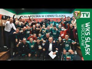 Radość po zwycięstwie z Cracovią