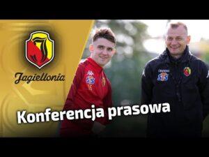 Konferencja przed meczem z Śląskiem Wrocław