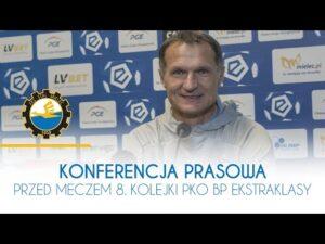 TV Stal: Konferencja prasowa przed meczem 8. Kolejki PKO BP Ekstraklasy
